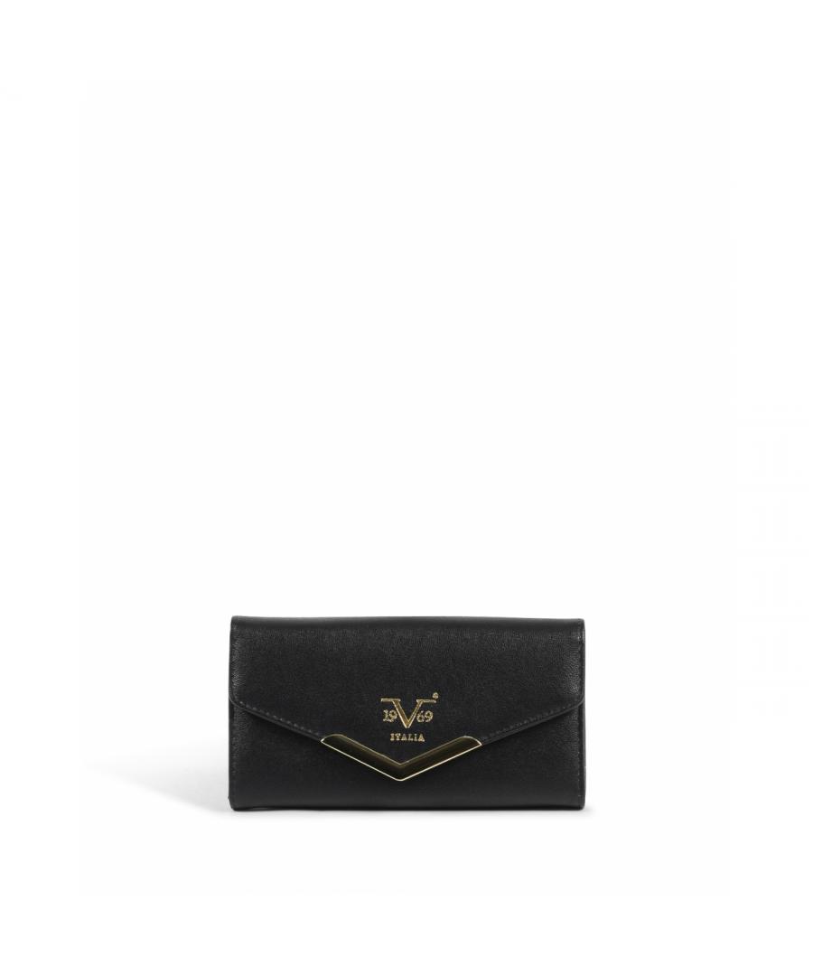Image for 19V69 Italia Women's Wallet ACCV8768 68 BLACK