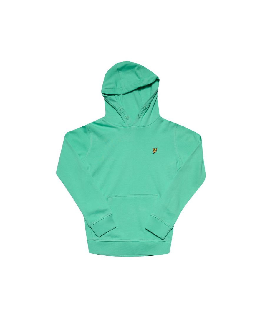 Image for Boys' Lyle And Scott Junior Classic Hoodie in Green
