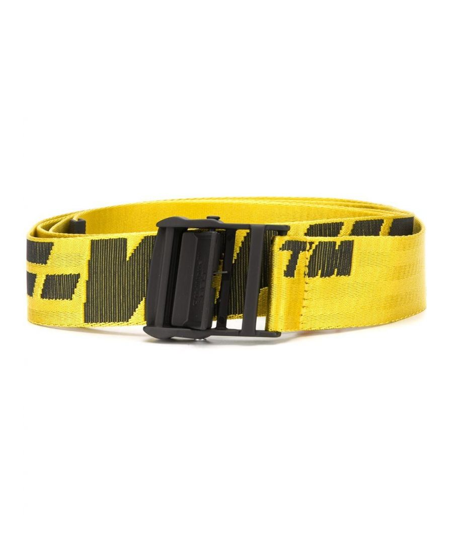 Image for OFF-WHITE WOMEN'S OWRB027S20FAB0011810 YELLOW POLYAMIDE BELT