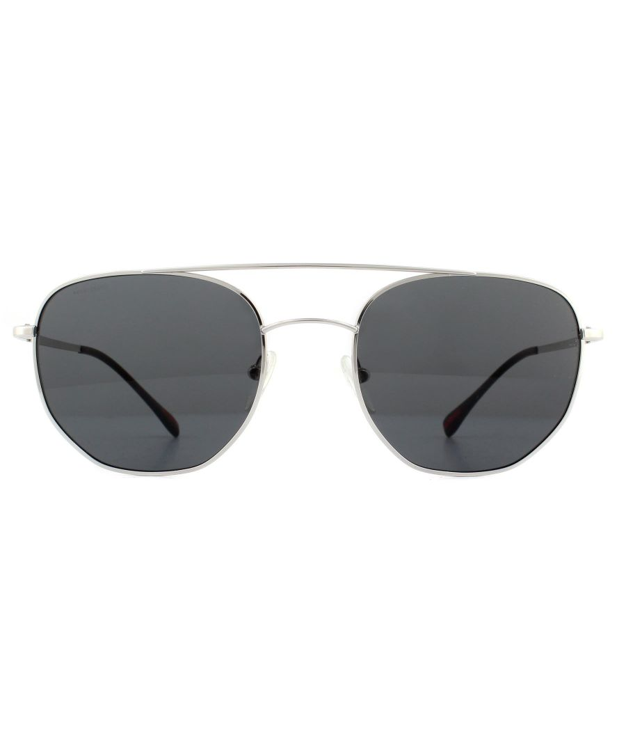 Image for Prada Sport Sunglasses PS56SS 1BC5S0 Silver Grey