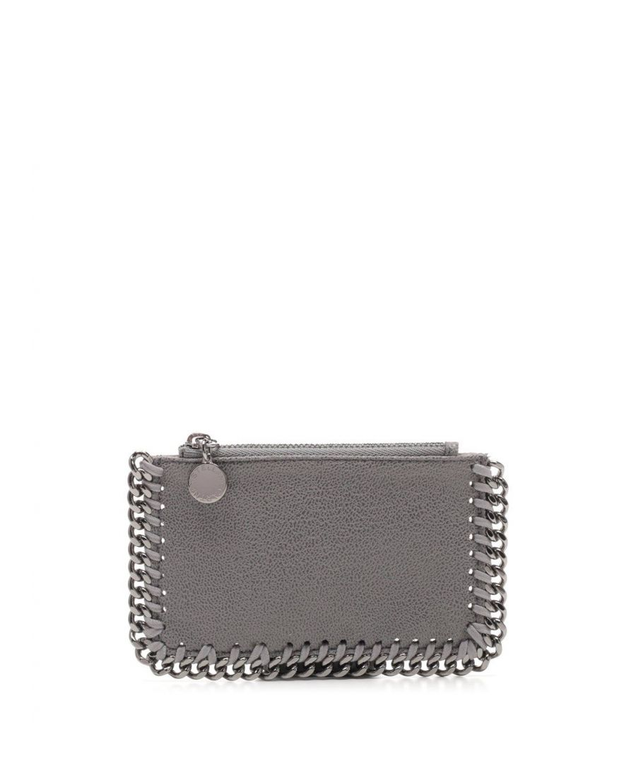 Image for STELLA MCCARTNEY WOMEN'S 422364W91321220 GREY POLYESTER CARD HOLDER