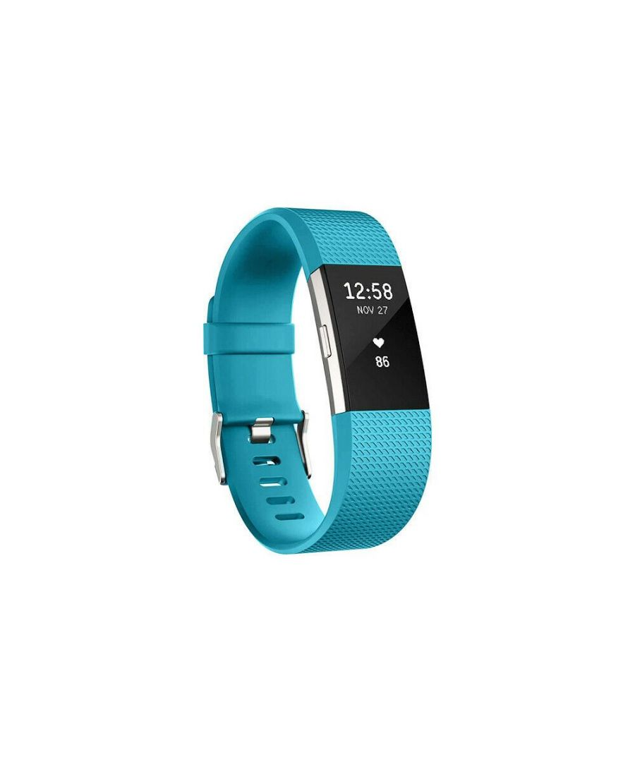 Image for Aquarius Fitbit Charge 2 Classic Replacement Straps Turquoise