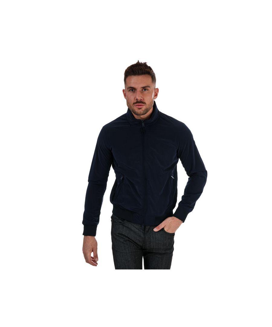 Image for Men's Armani Blouson Jacket in Navy