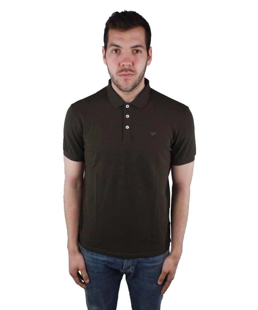 Image for Emporio Armani 8N1F12 1JPTZ 0481 Polo Shirt