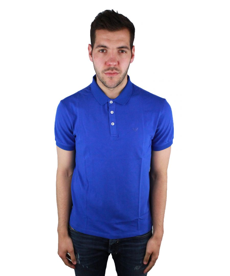 Image for Emporio Armani 8N1F12 1JPTZ 0945 Polo Shirt