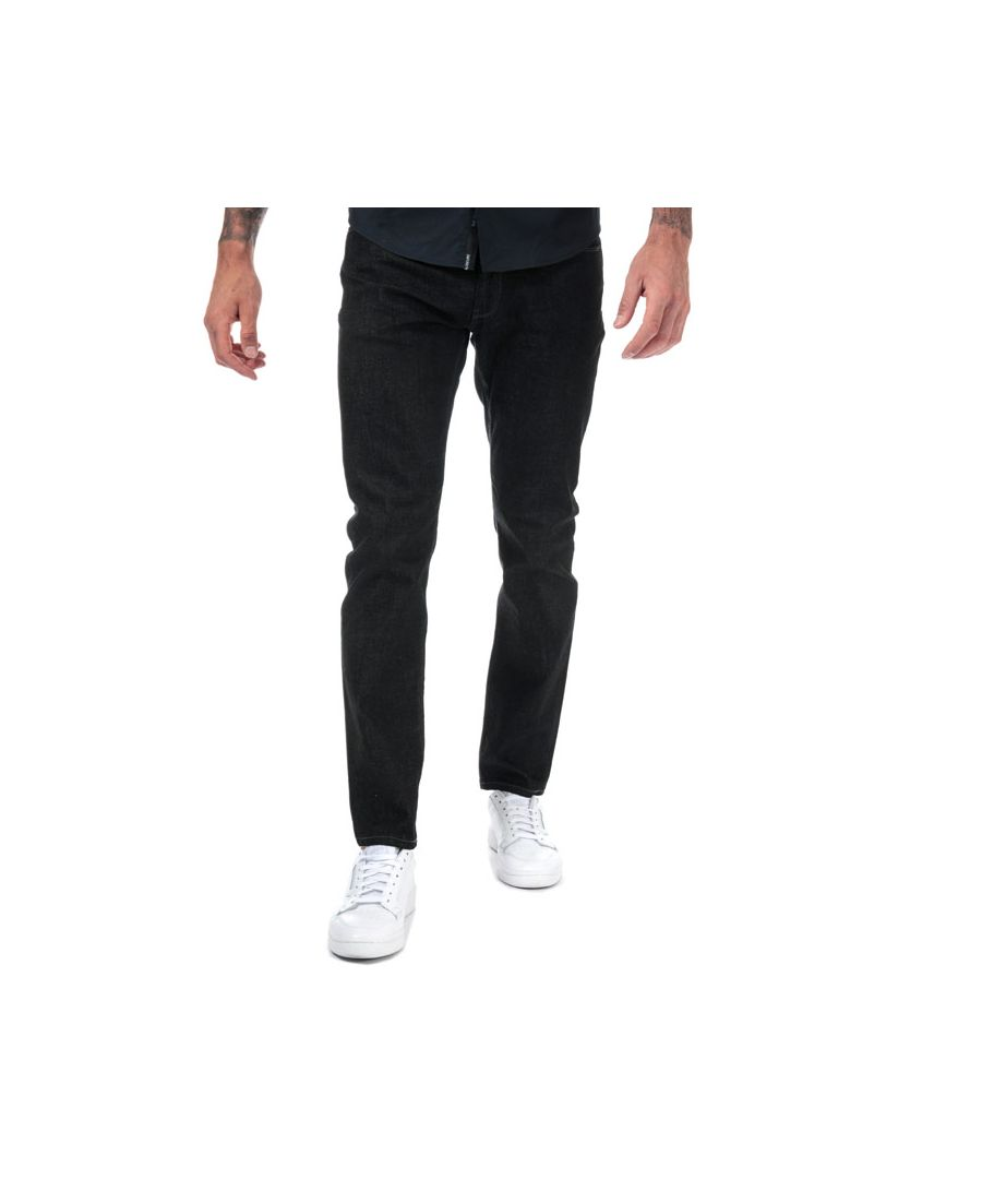 Image for Men's Armani J06 Slim Fit Jeans in Denim