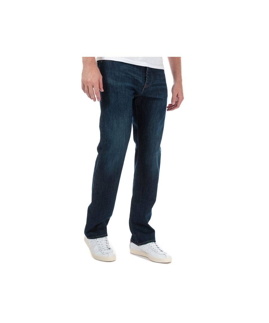 Image for Men's Armani J21 Regular Fit Jeans in Denim