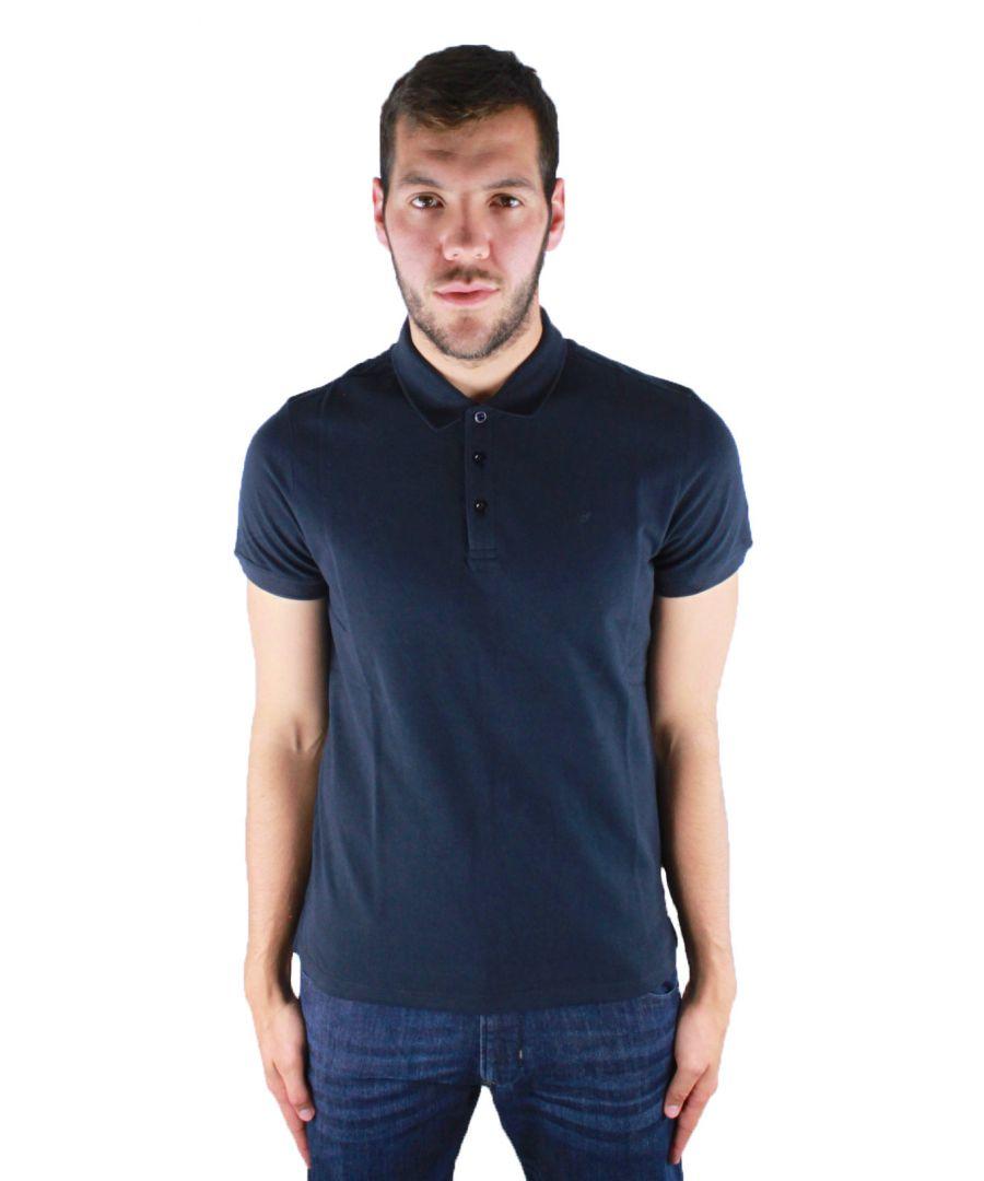Image for Armani Jeans 8N6F12 6J0SZ 1579 Polo Shirt