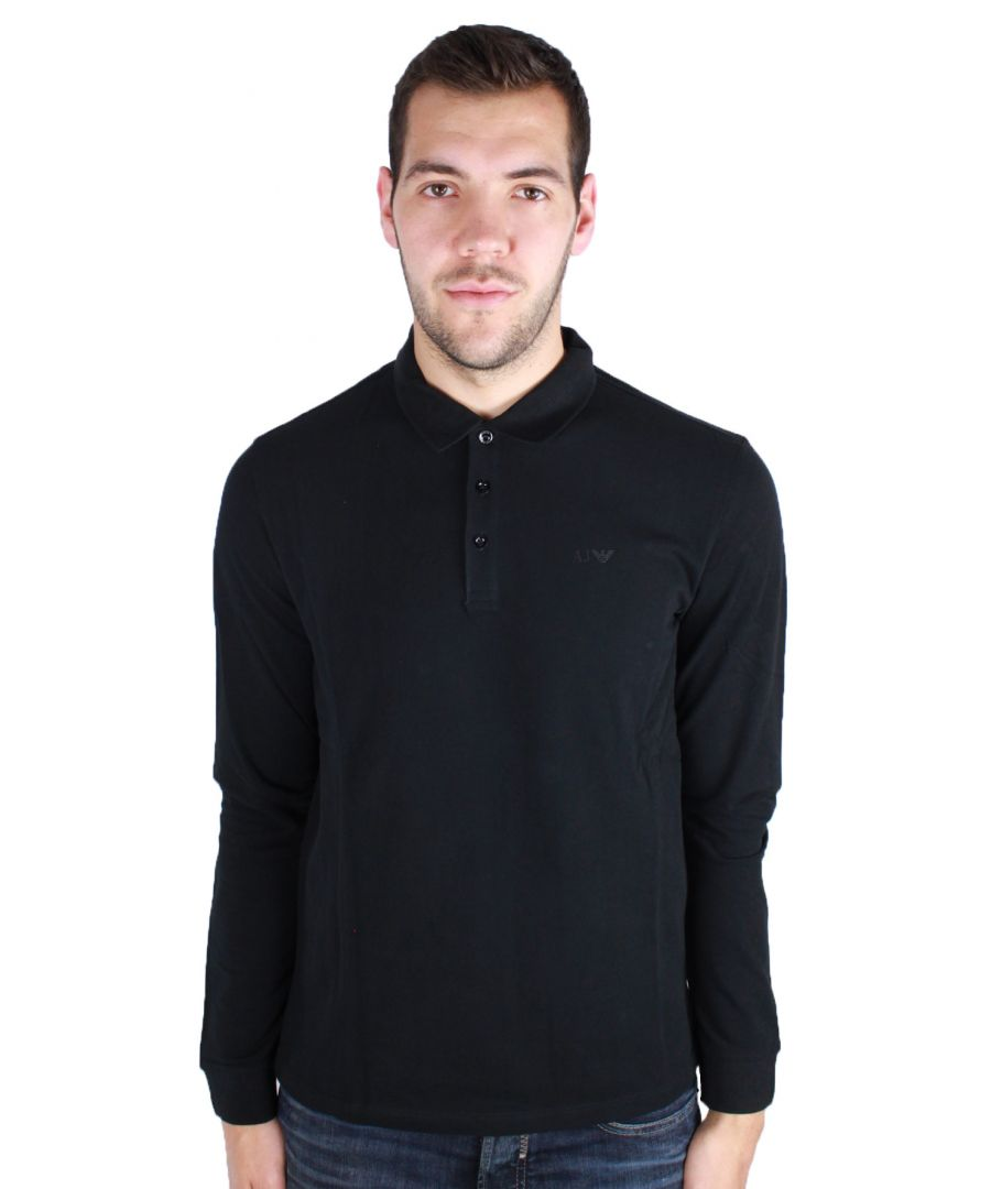 Image for Armani Jeans 8N6F13 6J0SZ 1200 Polo Shirt