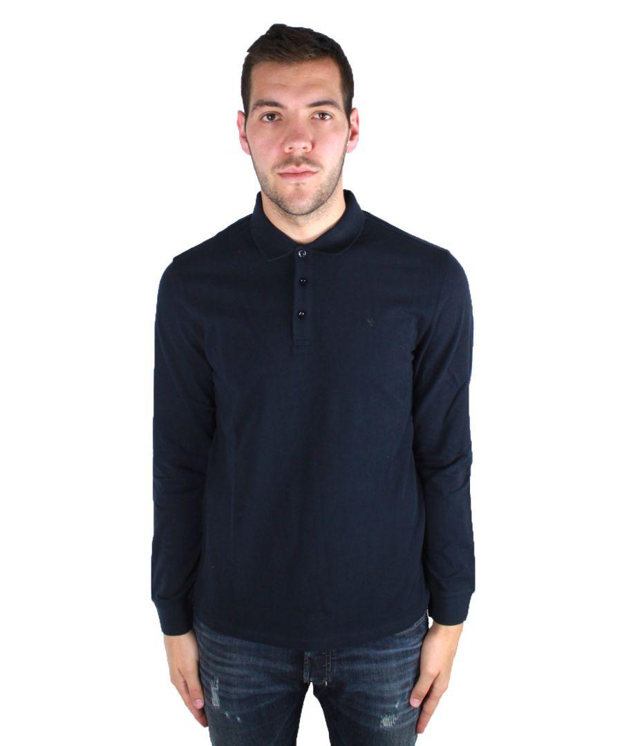 Image for Armani Jeans 8N6F13 6J0SZ 1579 Polo Shirt