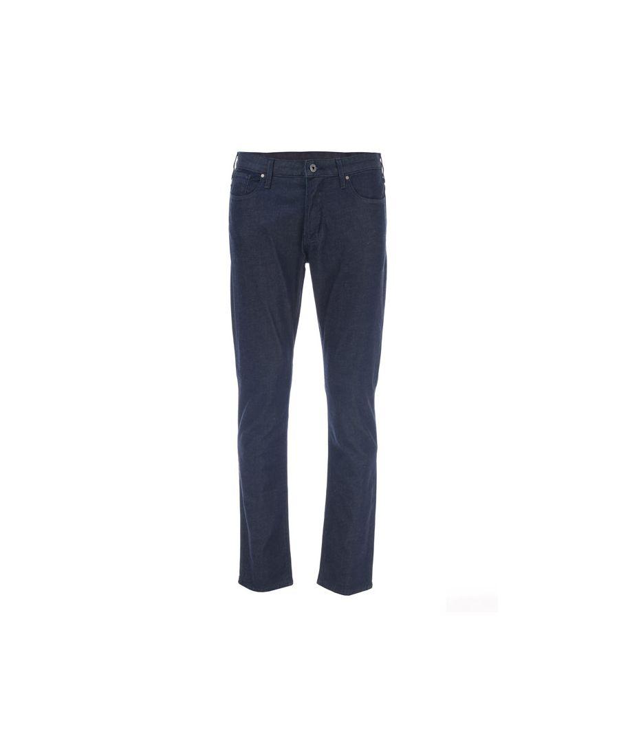 Image for Men's Armani J06 Slim Fit Dress Jeans in Denim
