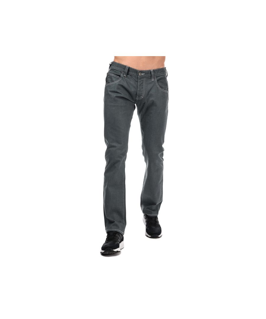 Image for Men's Armani J08 Regular Fit Jeans in Grey