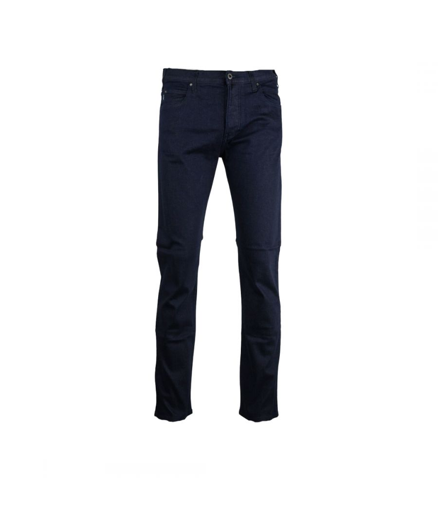 Image for Armani Jeans Regular Straight Blue Jeans