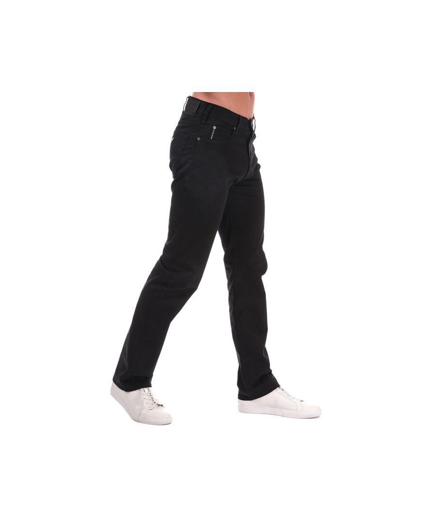 Image for Men's Armani J31 Classic Regular Fit Jeans in Black