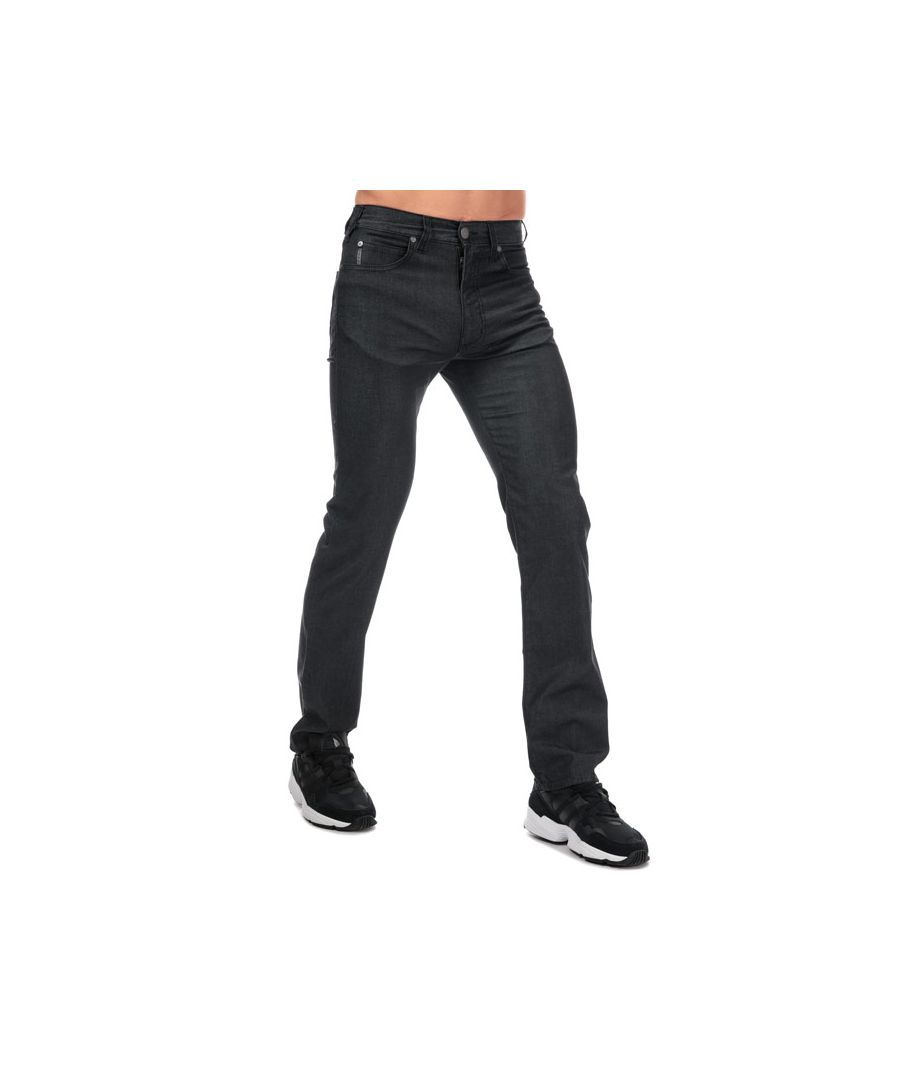 Image for Men's Armani J31 Regular Fit Jeans in Black