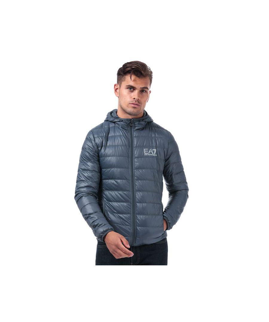 Image for Men's Emporio Armani EA7 Down Jacket in Grey