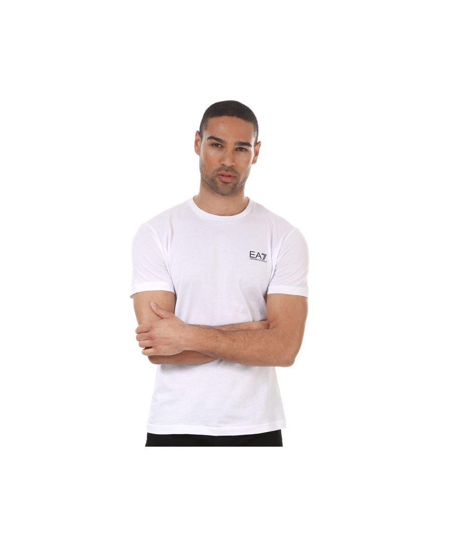 Image for Men's Emporio Armani EA7 Core ID T-Shirt in White