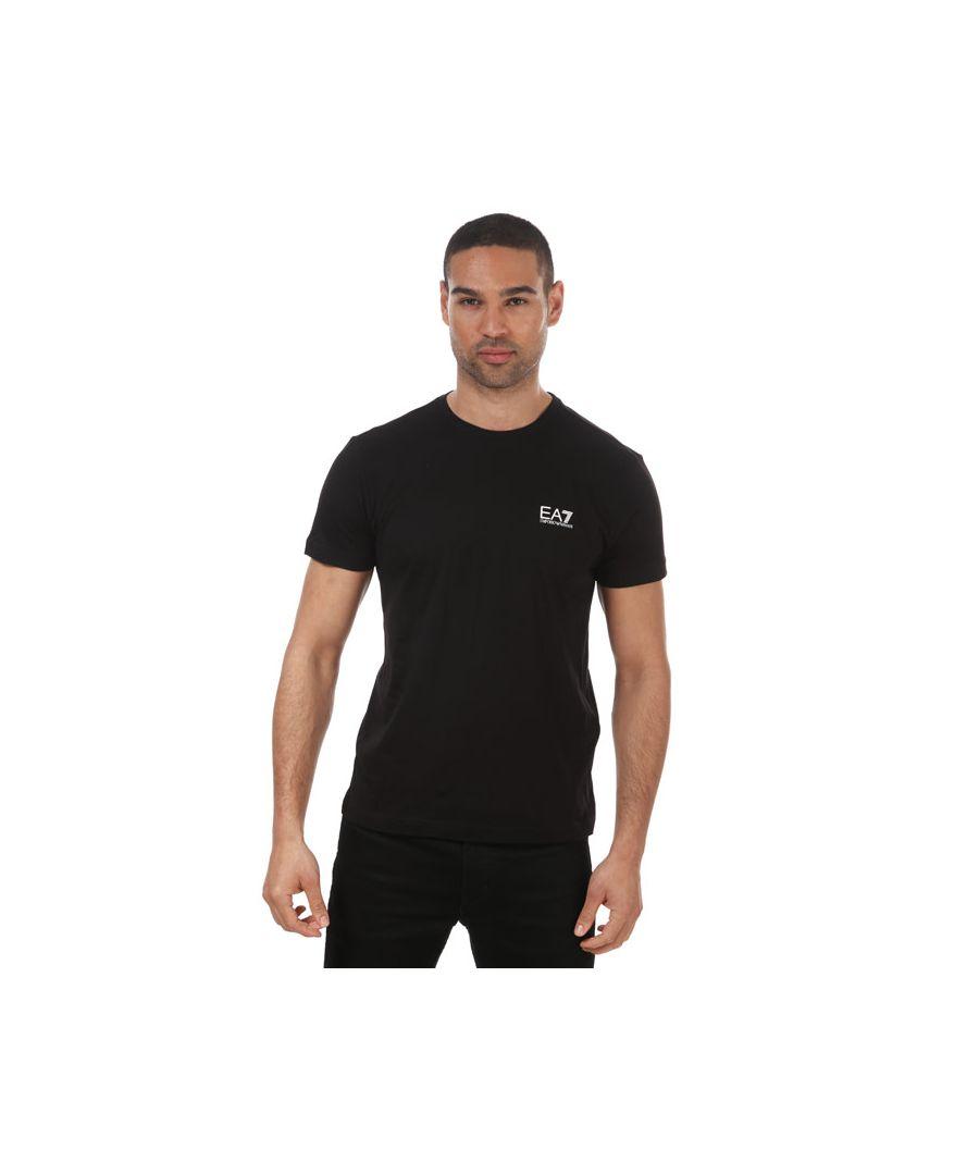 Image for Men's Emporio Armani EA7 Core ID T-Shirt in Black
