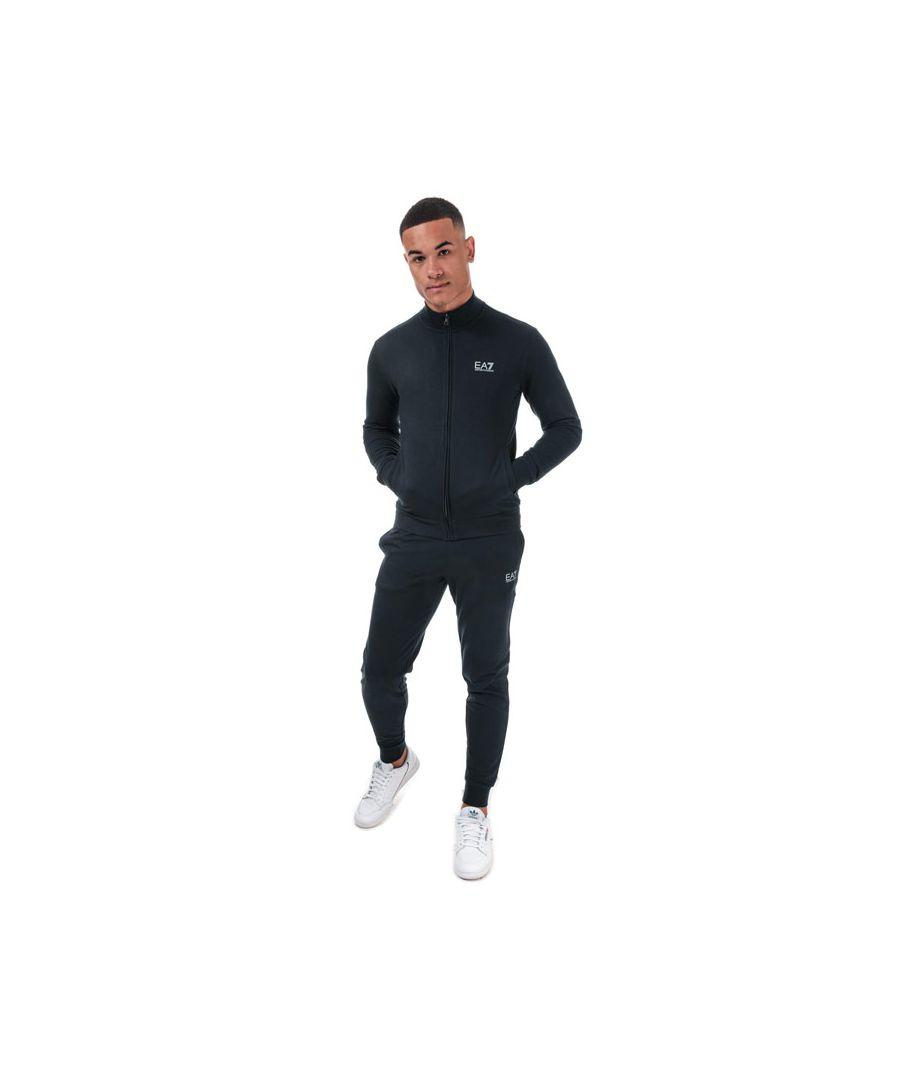 Image for Men's Emporio Armani EA7 Core ID Tracksuit in Black