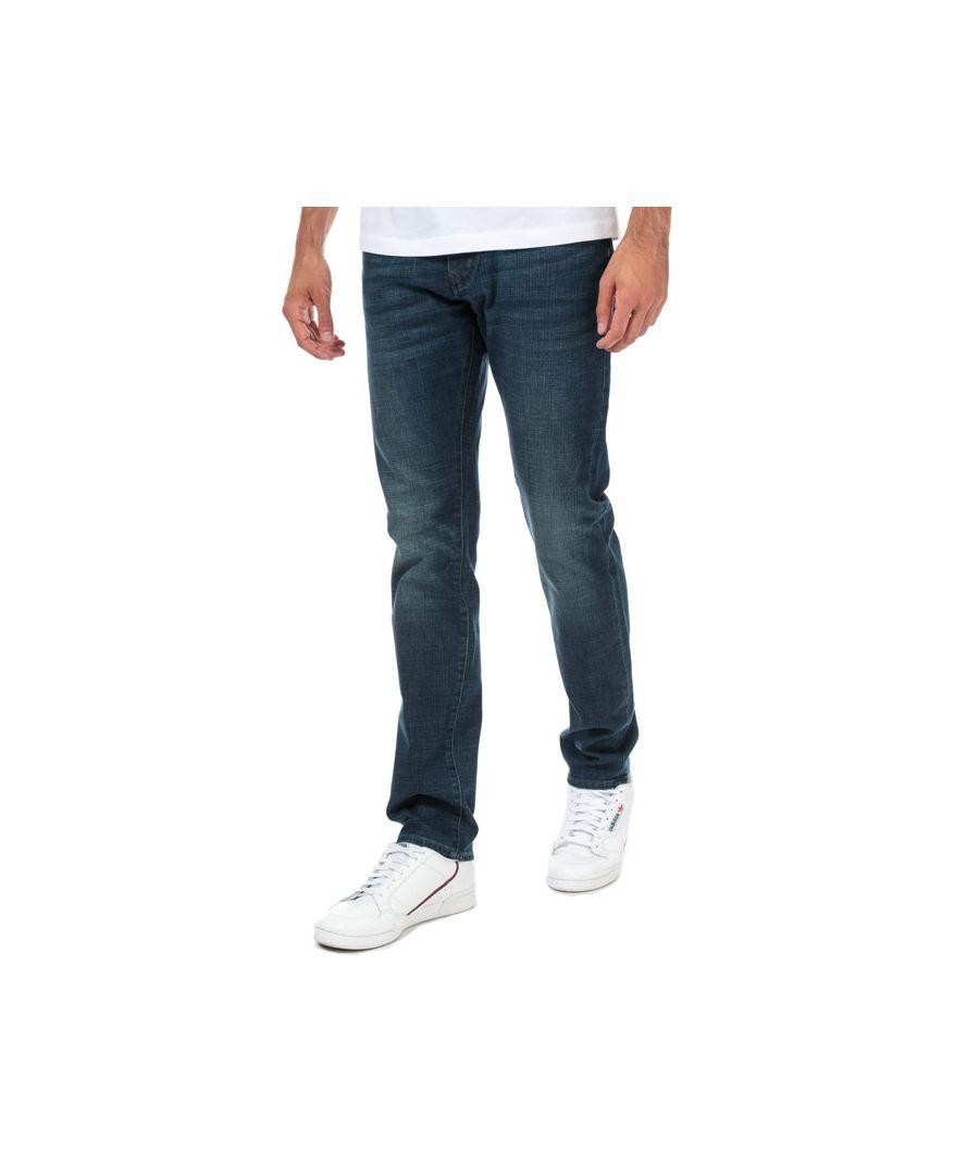 Image for Men's Armani Exchange J13 Straight Jeans in Denim