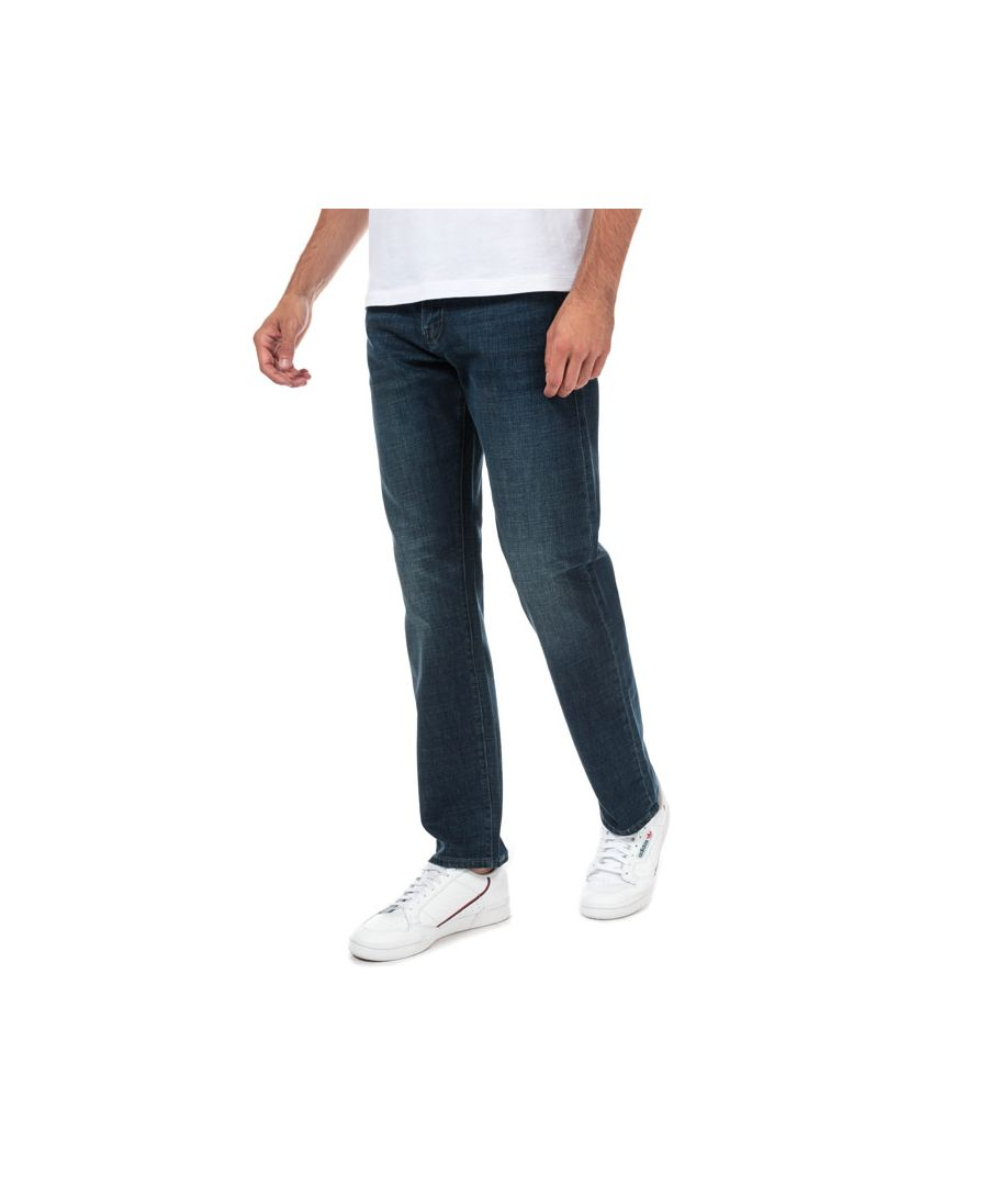 Image for Men's Armani Exchange J16 Straight Jeans in Denim