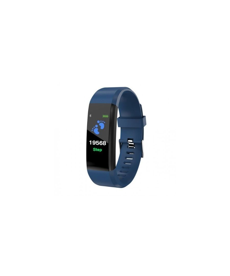 Image for LKS Activity Bracelet Color Screen Smartband IP67, Compatible with Android / IOS, Blue