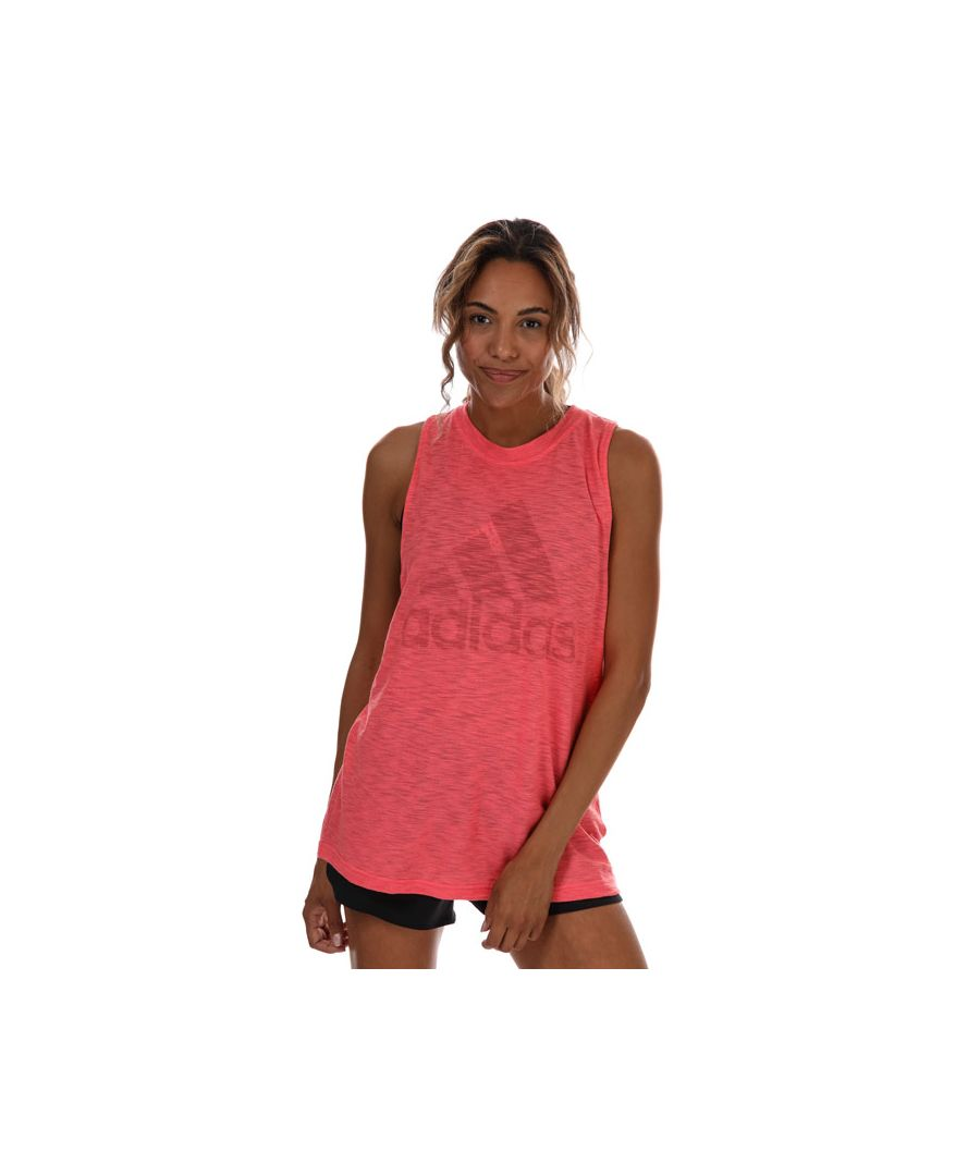 Image for Women's adidas Winners Tank Top in Red Marl