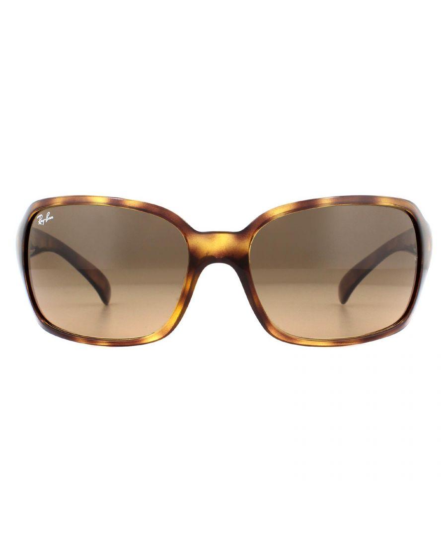 Image for Ray-Ban Sunglasses 4068 642/43 Havana Light Brown Gradient