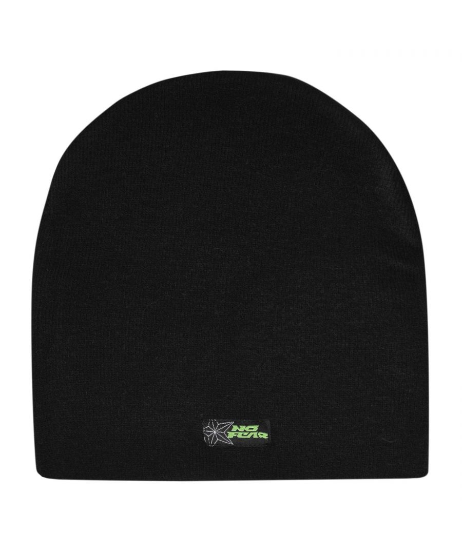 Image for No Fear Boys Beanie Hat Kids