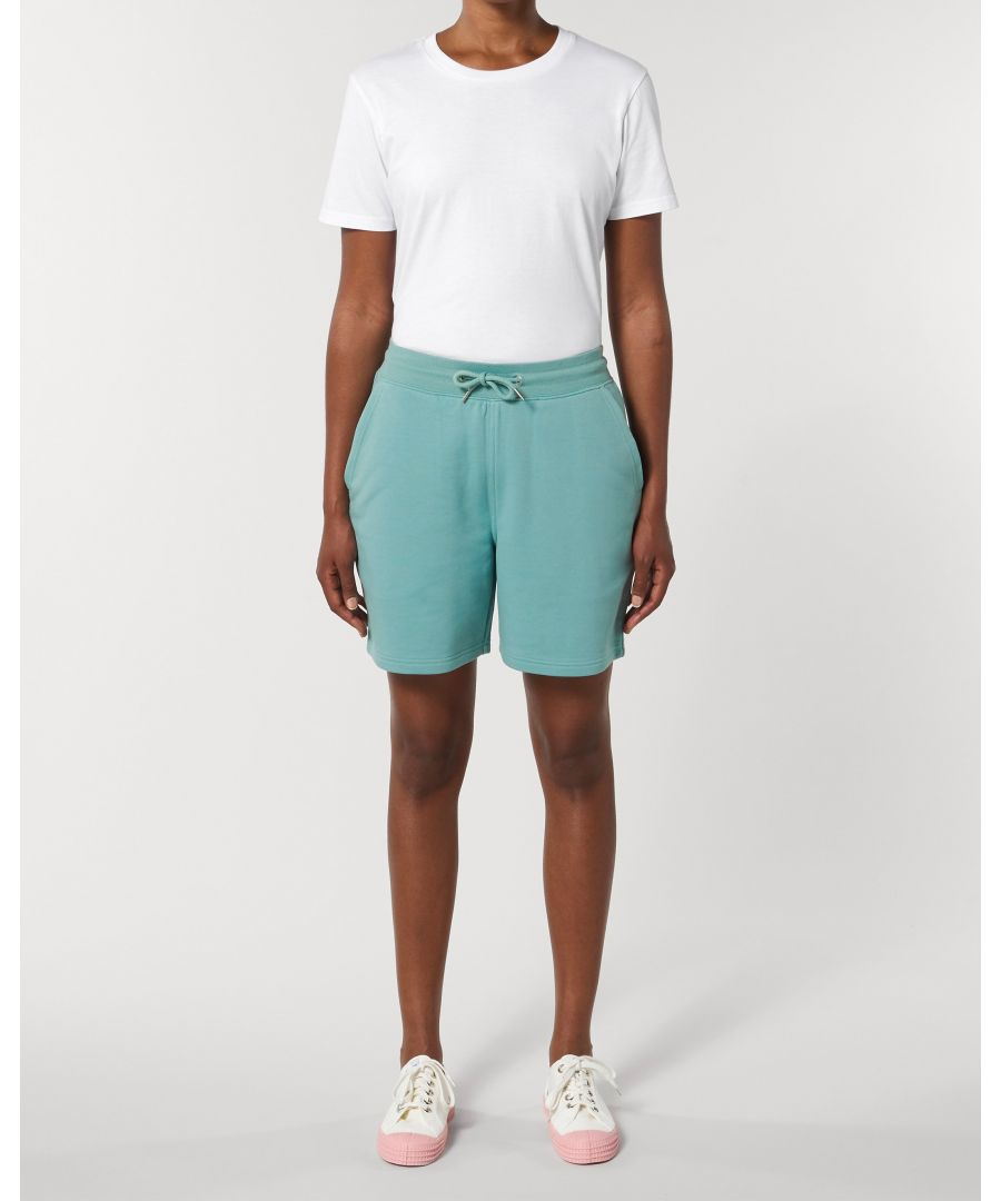 Image for Vayu Unisex Jogger Shorts in Teal