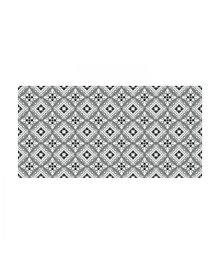 Image for WFS6018 - Seamless Antique Floral Tiles Design Floor Stickers 120cm x 60 cm