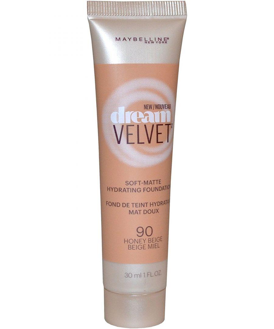Image for Maybelline New York Dream Velvet Soft Matte Foundation 30ml - 90 Honey Beige