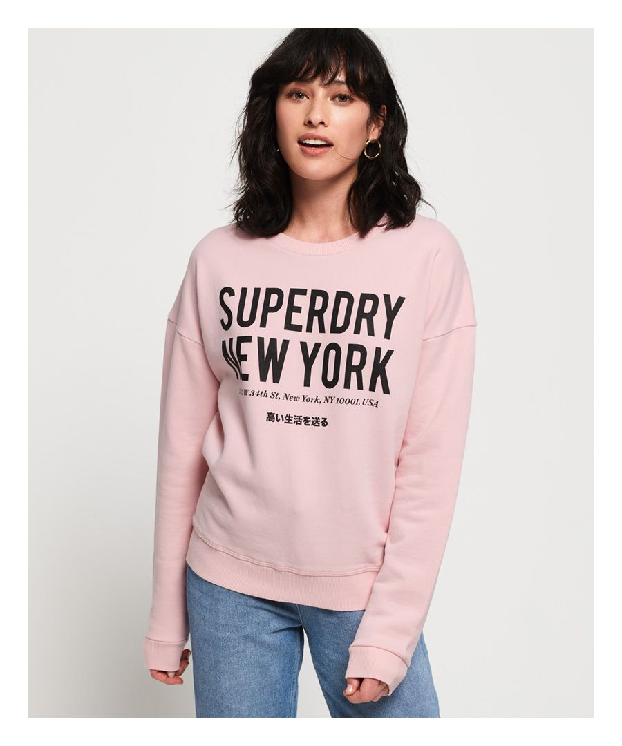 Image for Superdry Yasmine Crew Sweatshirt