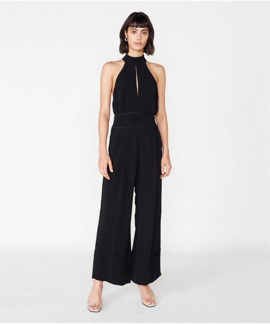 Image for Womens Outline London Cooper Jumpsuit in Black