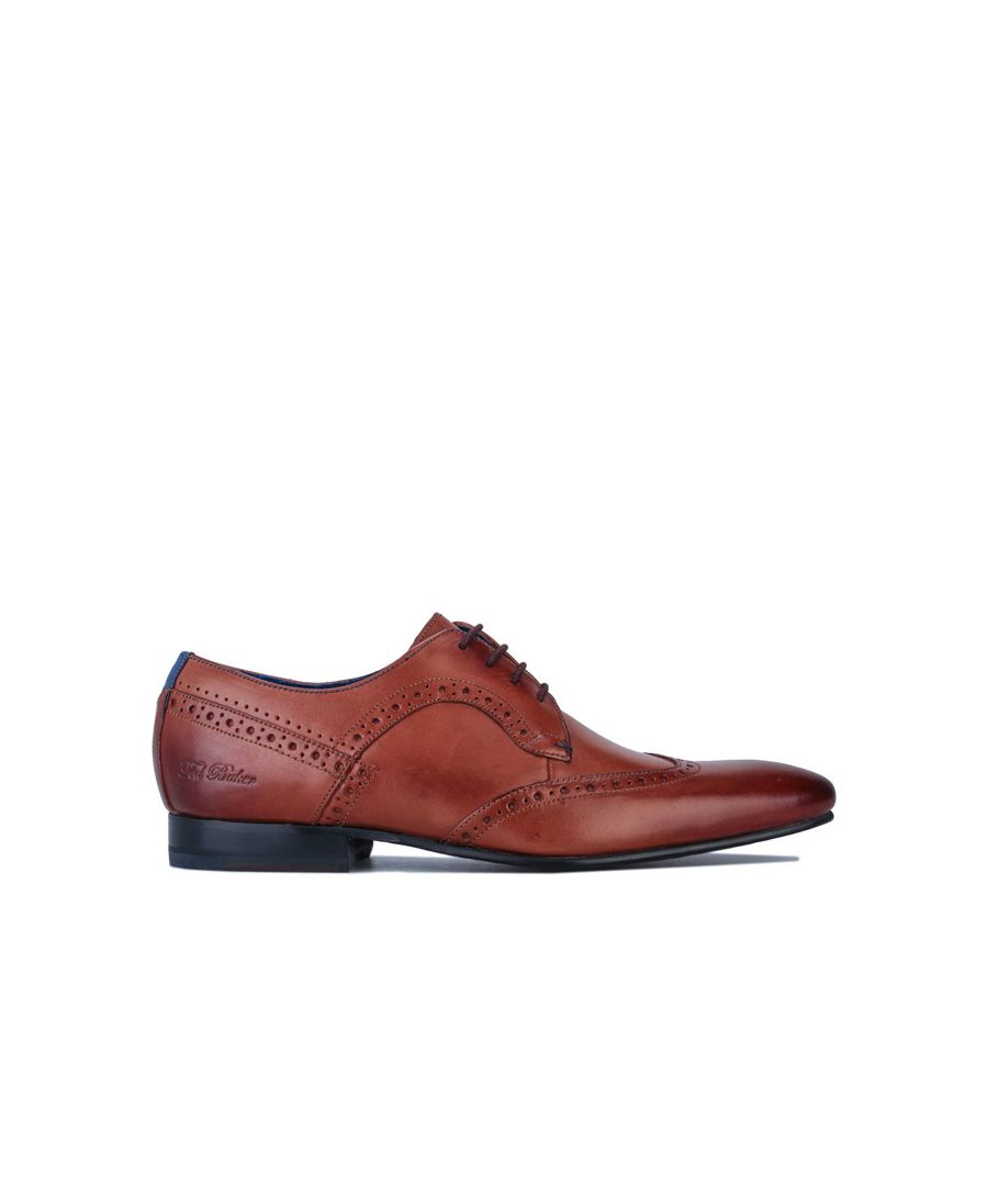 Image for Men's Ted Baker Ollivur Leather Shoes in Tan