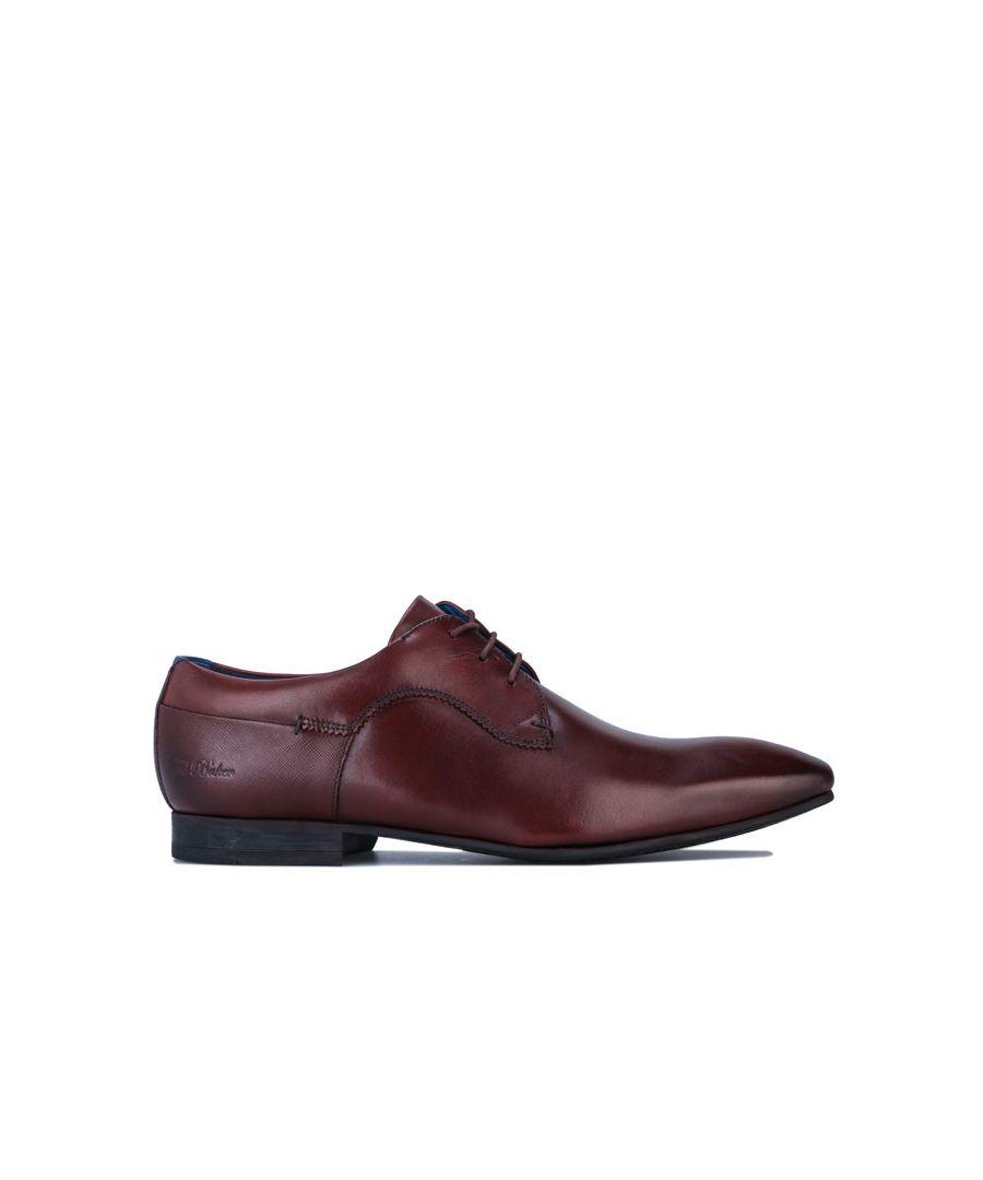 Image for Men's Ted Baker Tifir Derby Shoes in Brown