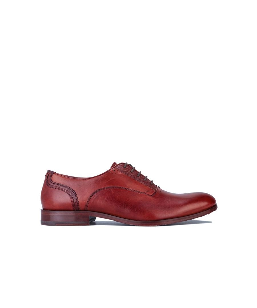 Image for Men's Ted Baker Willah Leather Oxford Shoes in Brown