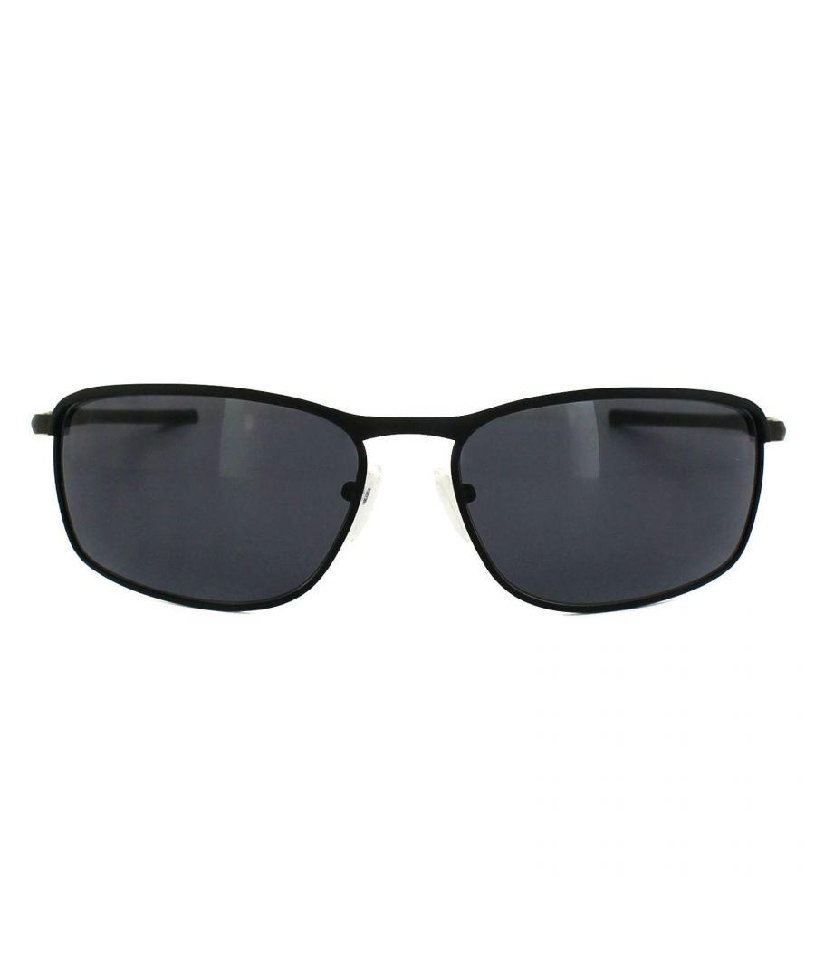 Image for Oakley Sunglasses Conductor 8 OO4107-01 Matt Black Grey