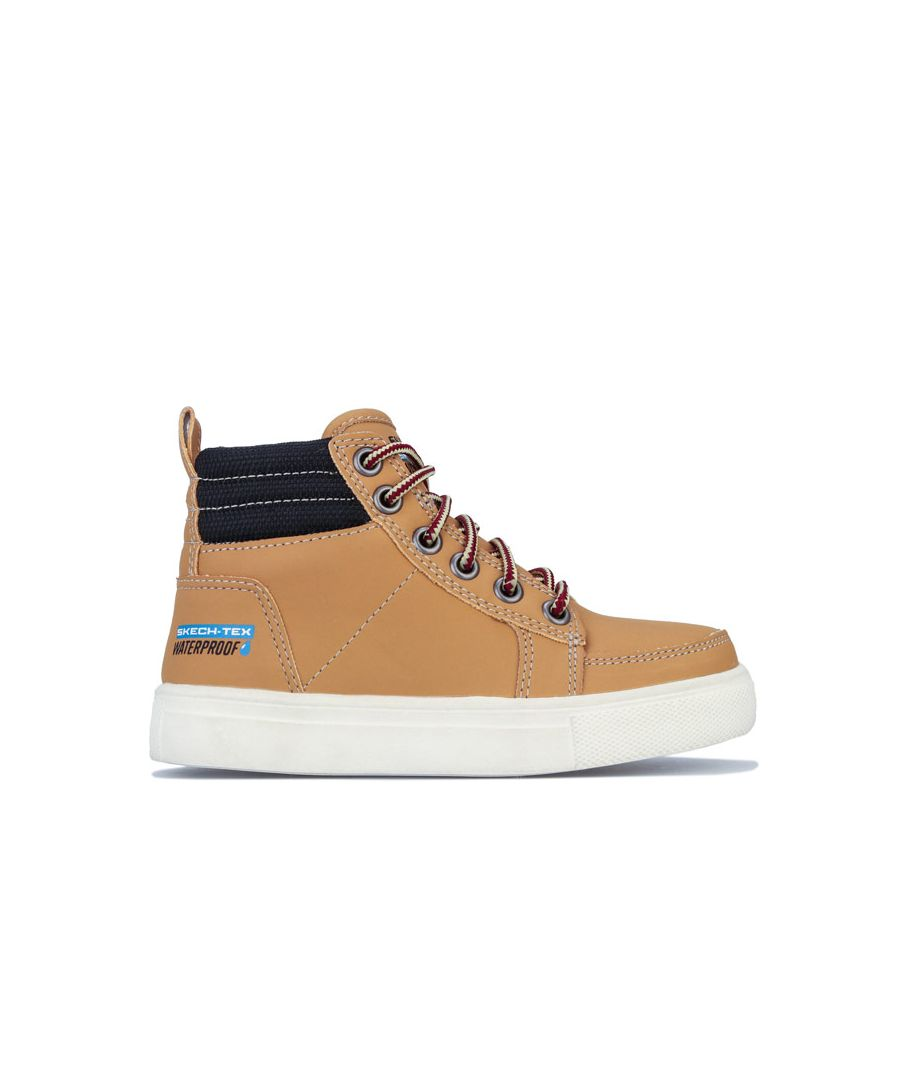 Image for Boy's Skechers Children City Point Boot in Wheat
