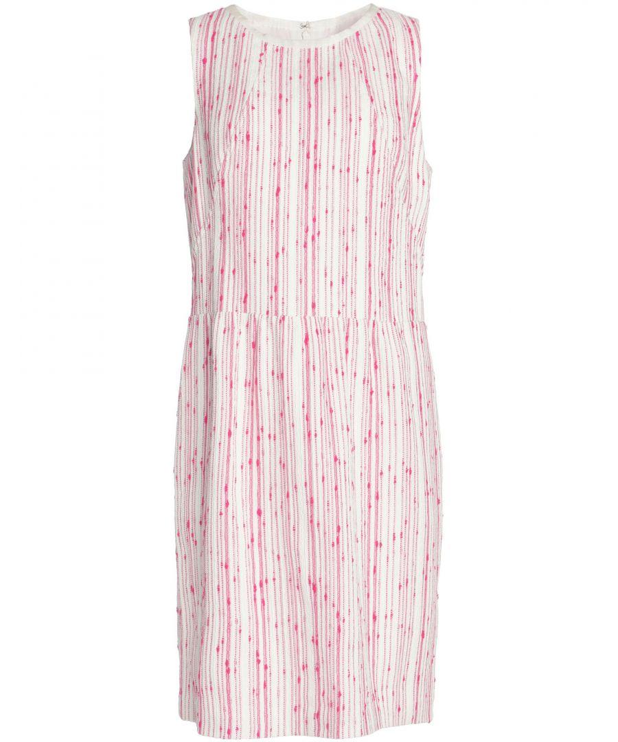 Image for Oscar De La Renta Women's Knee-Length Dress Cotton