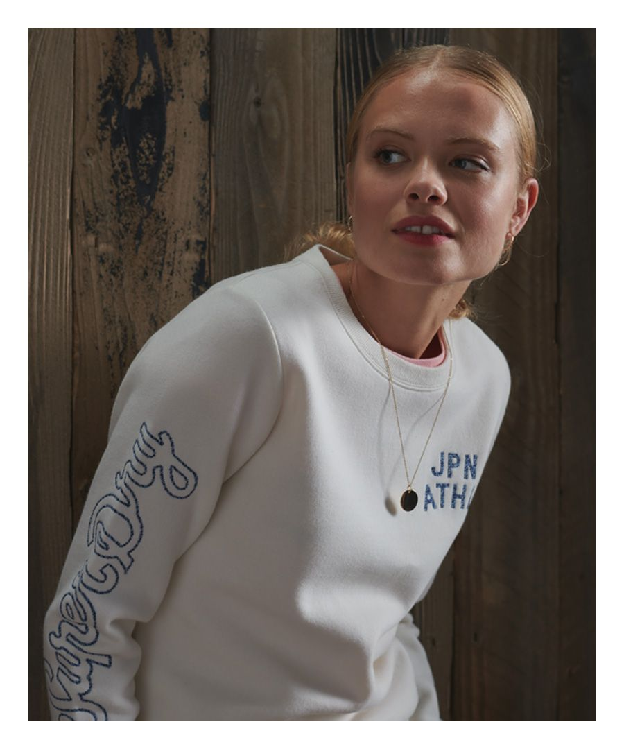 Image for Superdry Reworked Classic Embroidered Sweatshirt