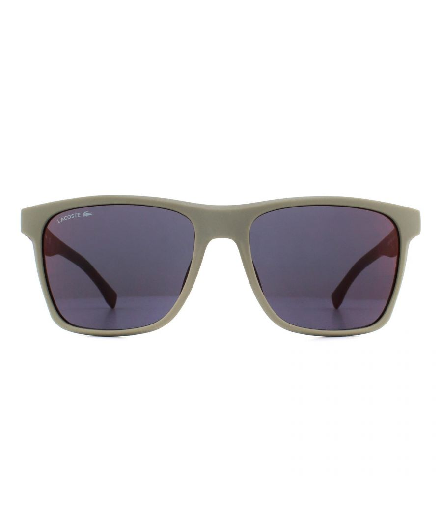 Image for Lacoste Sunglasses L900S 264 Matte Beige Red