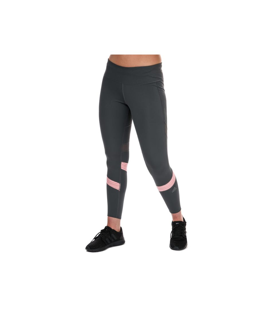 Image for Women's adidas How We Do 7/8 Tights Grey pink 0-2in Grey pink