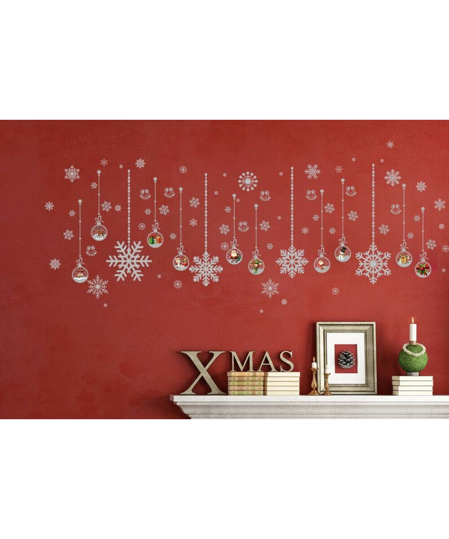 Image for WFXC8325 - COM -  WS5301 - Silver snow flakes + WS4030 Matt Silver Christmas Ornaments