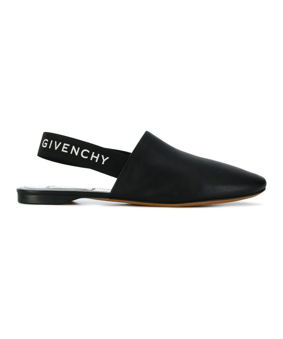 Image for GIVENCHY WOMEN'S BE2003E01H008 BLACK LEATHER LOAFERS