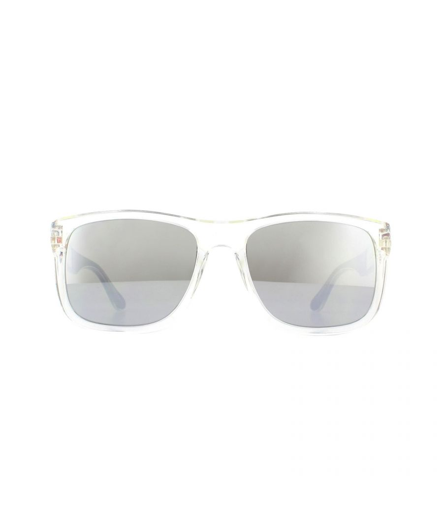 Image for Tommy Hilfiger Sunglasses TH 1556/S HKT T4 Crystal Silver Mirror