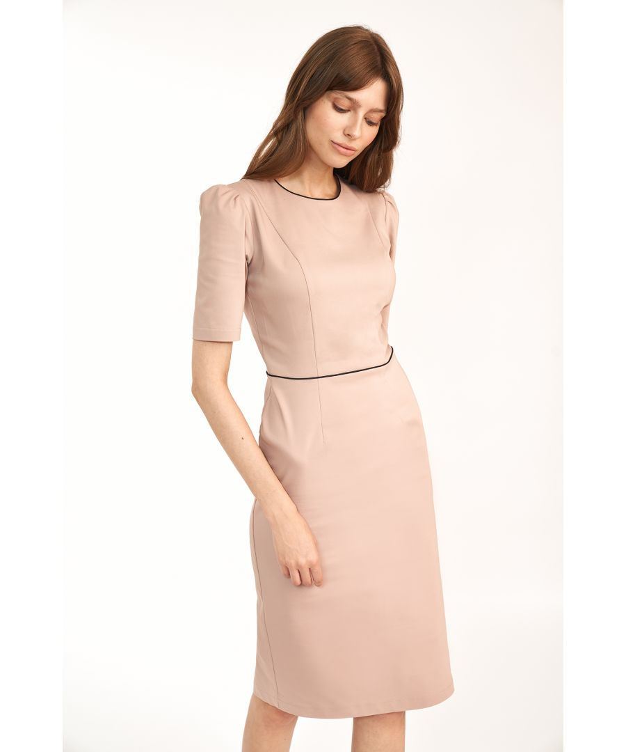 Image for Dress with short sleeves