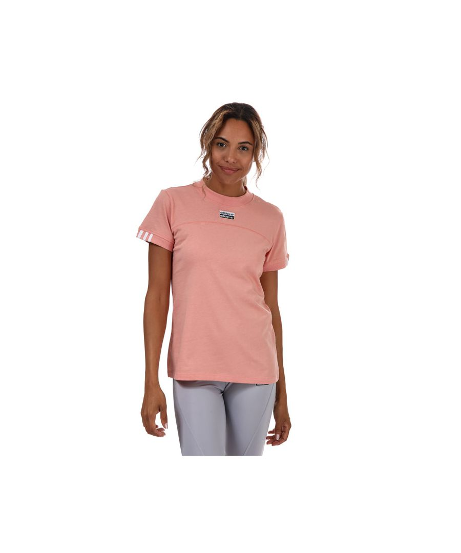 Image for Women's adidas Originals R.Y.V. T-Shirt in Pink