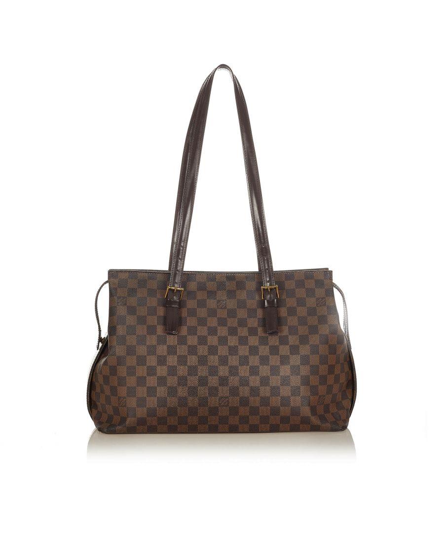 Image for Vintage Louis Vuitton Damier Ebene Chelsea Brown