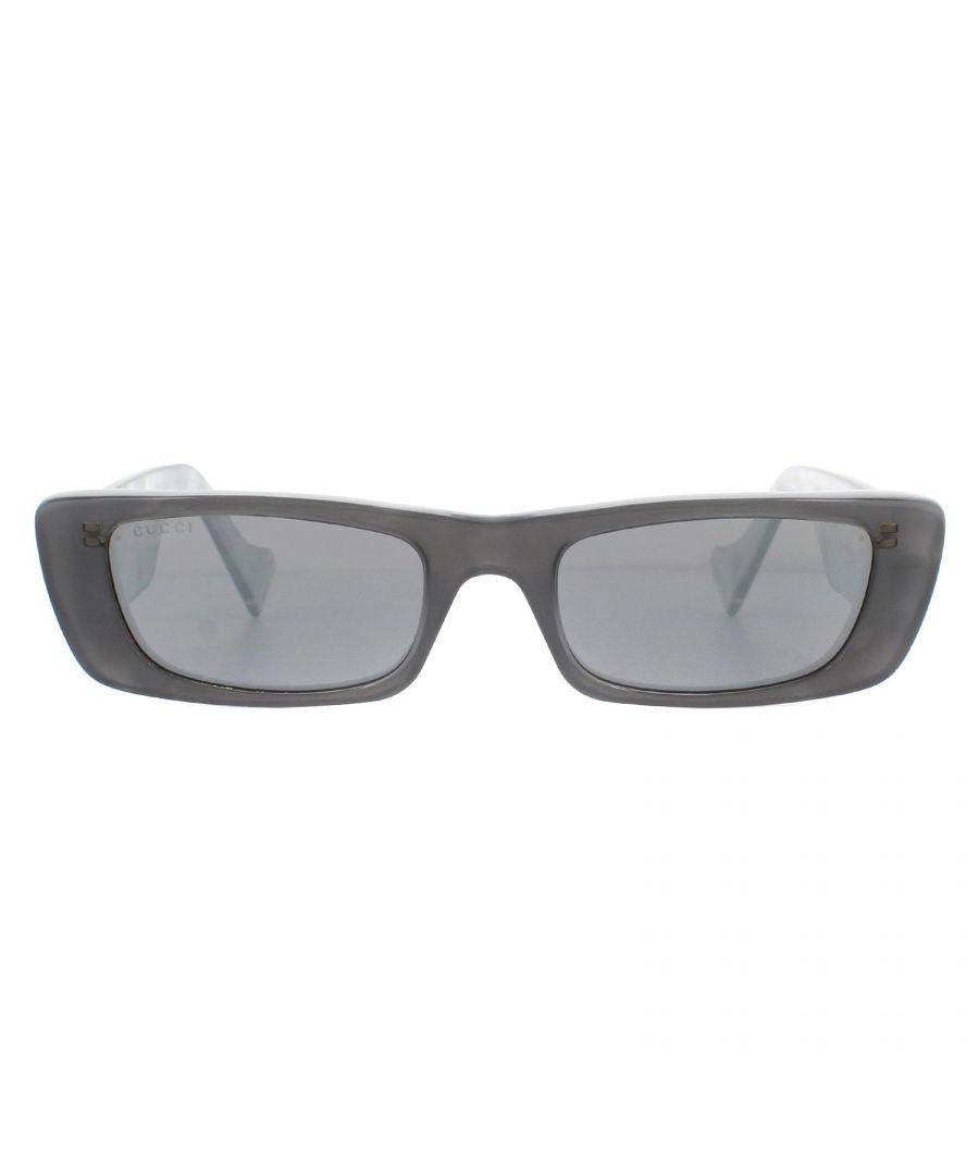 Image for Gucci Sunglasses GG0516S 002 Grey Silver